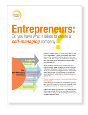 Cover image for The Self-Managing Company.
